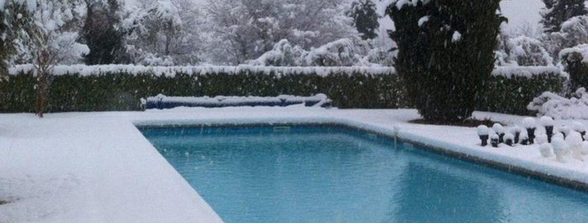 Chiusura invernale piscina